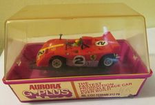 G-plus Ferrari 312pb, red with yellow, #2, with box
