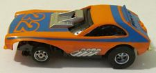 AFX Potent Pinto Screeecher funny car, orange with blue #22