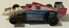 Tomy Amerimax Indy, white/red/blue #16 slotcar