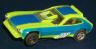 AFX Pinto funny car, lime/blue