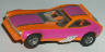 AFX Pinto funny car, orange with violet