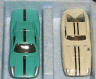 Turquoise Porsche 904 and white Cobra GT in sealed set