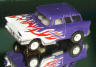 Tomy flamed Nomad, purple/white/red