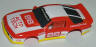 Tomy Autotech Camaro, red with white #88, body only